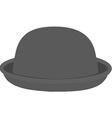Grey hat vector image vector image