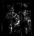 grunge background black vector image vector image