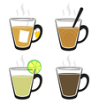 Hot drink vector image vector image