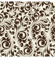 Khohloma style seamless floral pattern vector image