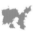 limnos greek island map population demographics vector image vector image