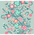 Spring floral seamless pattern in soft pastel vector image vector image