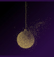 abstract of a christmas decoration vector image
