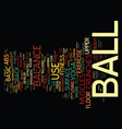 basic defense text background word cloud concept vector image vector image