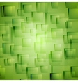 Bright green geometric background vector image vector image