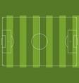 football field simple vector image vector image