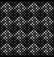 gray seamless abstract diagonal square pattern vector image vector image