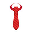 male tie isolated vector image