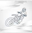 motor sport logo icon vector image vector image