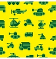 Pixel war seamless pattern vector image vector image