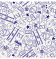seamless texture for teens vector image vector image
