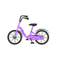 velo bike on white background vector image