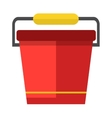 Water bucket vector image