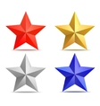 four stars vector image