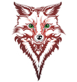 image of an fox vector image