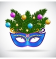 Abstract Beauty Merry Christmas and New Year Party vector image