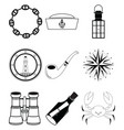 Nautical elements IV vector image vector image
