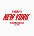 New york modern typography slogan for t-shirt