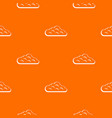 sky cloud pattern seamless vector image vector image