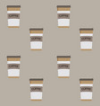 take away pattern coffee cup seamless vector image