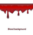 red blood flowing background vector image