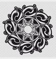 the celtic mandala vector image