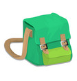 isolated of school bag - vector image