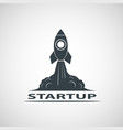 business startup icon vector image