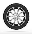 Car wheel and tyre vector | Price: 1 Credit (USD $1)