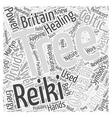 Celtic Reiki Word Cloud Concept vector image vector image