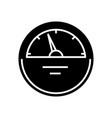 counter black icon concept vector image