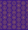 cryptocurrency seamless pattern vector image