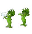 green man vector image