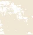 grunge beige texture vector image vector image