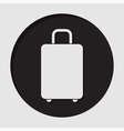 information icon - suitcase vector image vector image