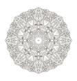 mandala oriental pattern turkey egypt islam vector image vector image