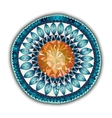 Mandala Round Ornament Pattern Ornamental Flowers vector image vector image