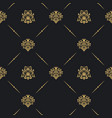 seamless vintage pattern decor vector image