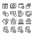 application icon vector image vector image