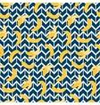 Bananas Ethnic Seamless Pattern vector image
