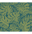 Beautiful seamless tropical jungle floral pattern