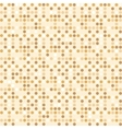 Digital point light brown seamless background vector image vector image