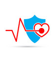 medical symbol isolated vector image vector image
