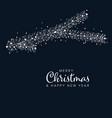 minimalist christmas flyercard template vector image vector image