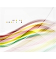 shiny wave abstract background vector image vector image