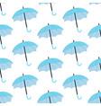 umbrella seamless pattern vector image vector image