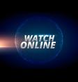 watch online internet news concept design vector image