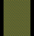 Green weave texture synthetic fiber geometric seam vector image vector image