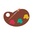 paint icon image vector image vector image