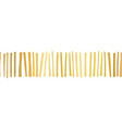 seamless border gold foil stripes pattern vector image vector image